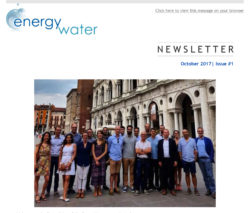 EnergyWater Newsletter - Issue 1-img